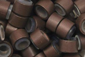 Medium Brown Micro Rings
