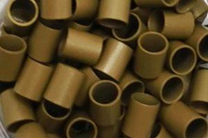 Dark Blonde Copper Tubes